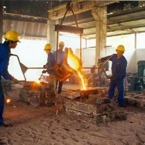 Đúc và gia công các loại thép
