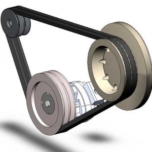 Bộ truyền đai (dây curoa) – Thiết kế máy công nghiệp