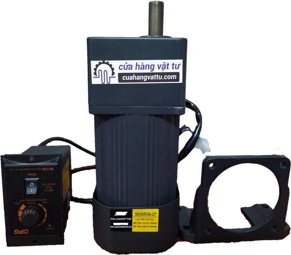 Động cơ AC – 220V 1 pha (Kèm hộp giảm tốc – điều tốc)