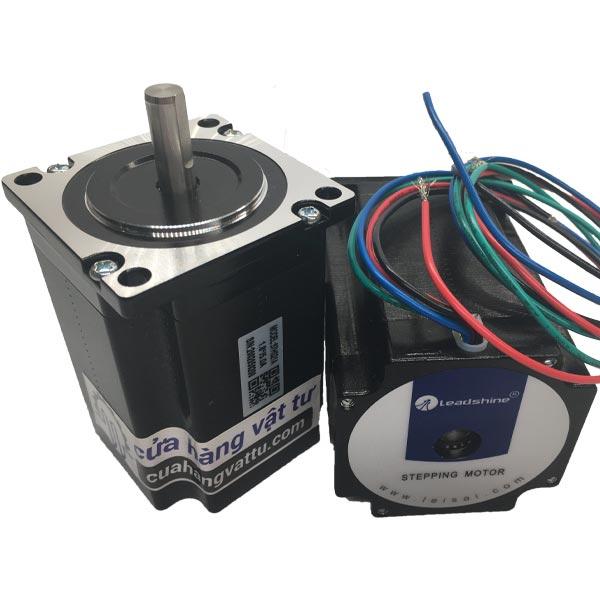 Step motor 57HS21A – 2.2Nm Leadshine trục 8m