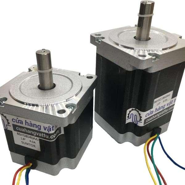 Động cơ bước 86 – 8.5Nm công nghiệp (trục 14mm)