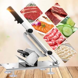 Máy cắt lát mỏng (thịt đông, rau củ) thay đổi được độ dày