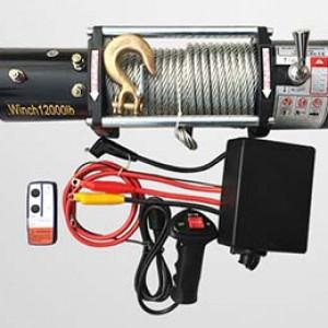 Tời điện 12V (3000Lbs – 12000Lbs) dùng cho xe
