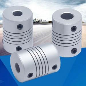 Khớp nối đàn hồi hợp kim nhôm đường kính 3-10mm