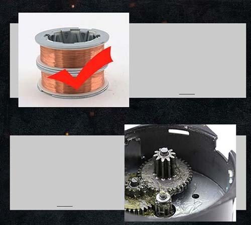 động cơ cho máy rửa chén