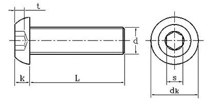 bản vẽ ốc đầu lục giác