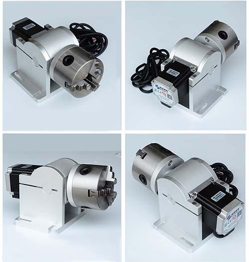 trục xoay máy khắc laser kim loại