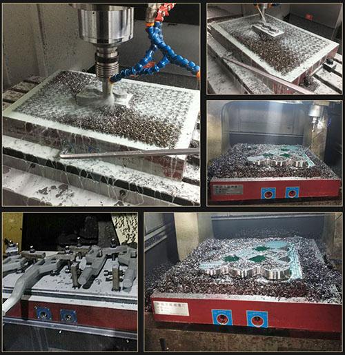Bàn từ sử dụng trên máy phay CNC