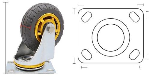 bản vẽ bánh xe